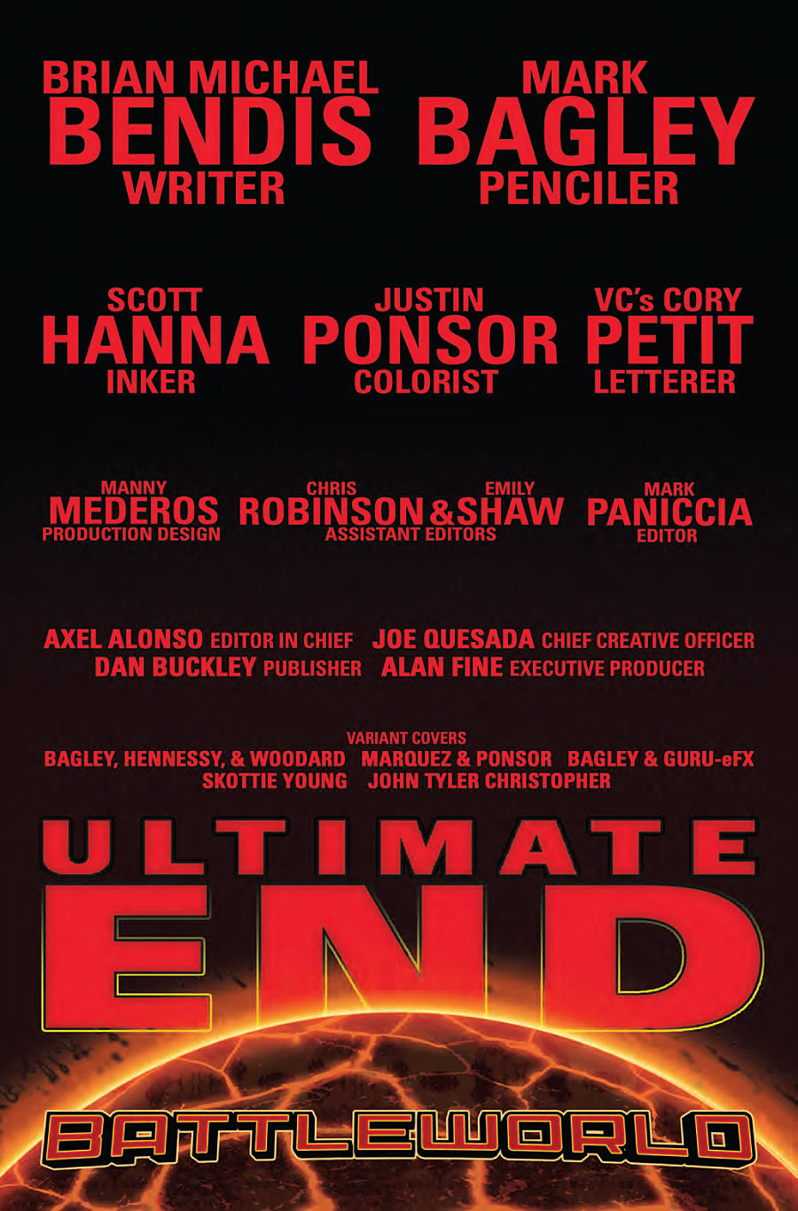 Ultimate End #1