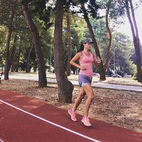#4km #zadar rekortánján. #runnersofinstagram #morningrun #4monthspregnant #running #fitmom