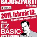 Bajuszparti EZ Basic-fellépéssel – februári Undorgrund programok