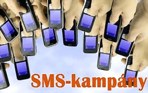 mobil marketing, tömeges sms-kampány