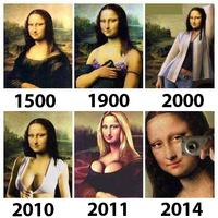 Mona Lisa napjainkban is mosolyog