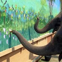 Festő elefántok