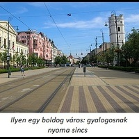 Gyalogosmentes napot rendez a Város
