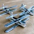 Csanád és Emil névnapra - repülő csipeszből és spatulából