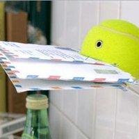 Beatrix névnapra - vicces teniszlabda mindent tartó