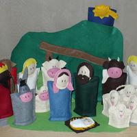 Adventi naptár ötletek 1. - kicsiknek, figurákkal