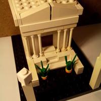 Izidor névnapra - LEGO projekt Ízisz szentély