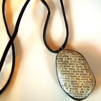 Petra névnapra - kő, papír... nyaklánc