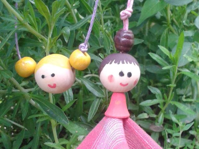 Fababa nyaklánc gyereknapra - útmutató
