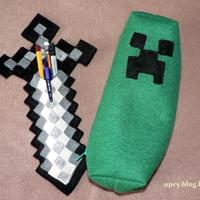 Minecraft projekt 2. - Vaskard (iron sword) tolltartó