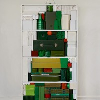 Karácsonyfa újrahasznos alapanyagokból
