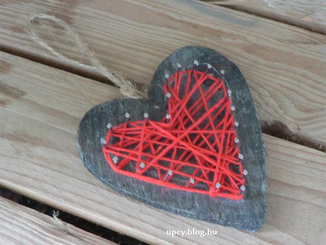 Szegecselt szív Szabitól