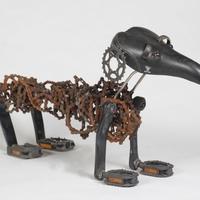 Gergely névnapra - kerékpár-alkatrész kutya