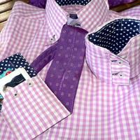 3in1, azaz egy férfi ingből táska, csuklópénztárca és kártyatartó