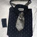 Ingtáska férfi ingből és nyakkendőből, a dandy változat