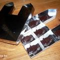 Minecraft és LEGO lovagvár csoki