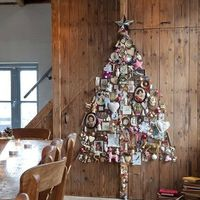 Karácsonyfa újrahasznos alapanyagokból - dekorációnak vagy ajándéknak