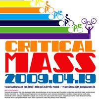 Holnap Critical Mass, el ne felejtsétek!