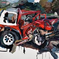 Roncs autó festés - Ben Quilty
