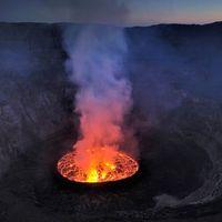 A nap képe - Nyiragongo Crater