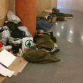 Mi ez, egy hajléktalanszálló? Dehogy, csak a Móricz Zsigmond körtéri metrómegálló