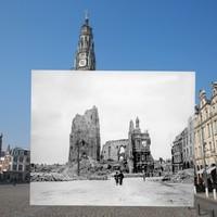 Első világháborús és mai fotók 2 az 1-ben