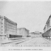 A Károly körútra már 1929-ben is kockafákat terveztek - a nap archív képe