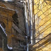 Elképesztő ereszcsatorna-képződmények a Szent Lukács Fürdőn