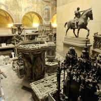 A Szépművészeti Múzeumnak van egy világháború óta elzárt csarnoka. Vajon mi van benne?