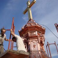 Toronysisakcsere Tatán - a nap képei az Indafotóról