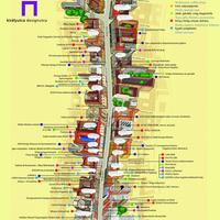 Frankó térkép a Király utcáról. Töltsd le nagy felbontásban!