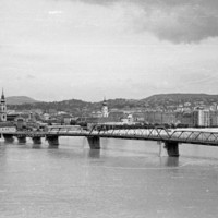 Zoomolj bele az 1955-ös budai panorámába. Lenyűgöző!