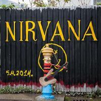 Kurt Cobain emlékére festettek kutat street-artosok