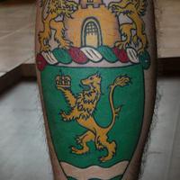 Tetovált Zugló-címer