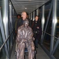 Hajléktalanszobor Budapesten? Még sem az önkormányzat, sem a szobrász nem döntött