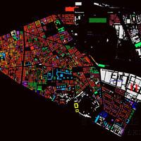 Fantasztikus térkép Józsefvárosról: valamennyi ház kora szerint színezve rajta