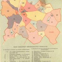 Ilyen is lehetett volna Nagy-Budapest. Egy elképzelés 1947-ből: Mátyáskirályváros, Rákosváros és 36 közigazgatási egység