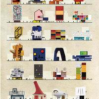 Mi lett volna, ha Dalí, Picasso, Mondrian vagy Miró építész lett volna? Zseniális háztervek a sztárfestők stílusában