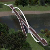 Még idén új budapesti Duna-híd épül? Igaz csak Lágymányosi-öböl felett ível majd át