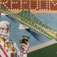Hídja előtt szelfiző Ferencjóskát, 50 Centet a Lánchídnál,  zsinagógát a hálószobába és egyéb mókás motívumokat fest egy művészcsoport kültéri és beltéri falakra