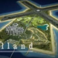 Szélmalom-alakú high-tech félszigetet terveznek az arabok Hollandiába?
