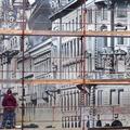 A nap képei: 25 méter magas falfestmény készült a századfordulós Nagykörútról