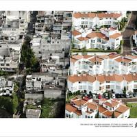 Brutális légi fotókon mutatják be a társadalmi különbségeket Mexikóban