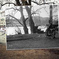 Motoros a Műjégnél, baleset a Deákon és az S-modell az Astoriánál - három új budapesti fotó az Ablak a múltra sorozatból