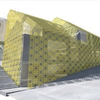 Kőcsipketerítőt terveztek a Gül Baba utcai társasházra