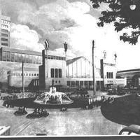 A nap képe: milyen lenne, ha a WestEnd helyén egy felhőkarcoló állna? Ilyennek álmodták a 30-as években a Nyugati pályaudvart