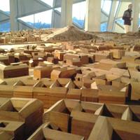 Keresd meg a házad a hatalmas, fából készült Budapest-maketten