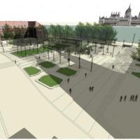 Tervek a Batthyány tér átalakítására. Átszervezett közlekedés, több zöldfelület