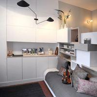 12 négyzetméteres párizsi lakás
