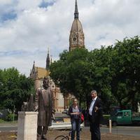 Új szobrot avattak Budapesten - természetesen Lechnerét